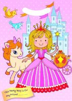 Princess Castle & Unicorn Party Loot Bag